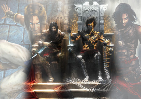 Prince Of Persia Two Thrones Other Video Games Background
