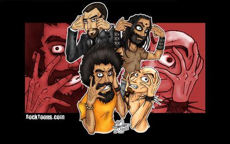 System Of A Down Toon Members