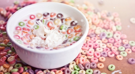 Bowl of cereal - food, softness, photography, wallpaper, breakfast, cereal