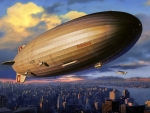 The Fateful German Hindenburg Airship