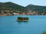 Lazareto islet, Ithaki in the Ionian Sea, Greece