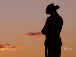 ANZAC Day Soldier