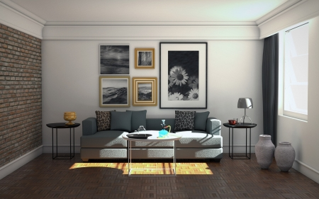 Living Room - home, design, interior, living room