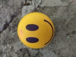smile on ball