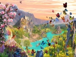 Land of Fairies and Butterflies