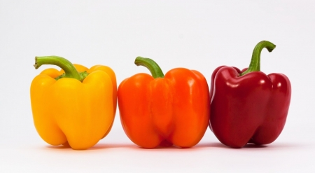 Sweet peppers - photography, vegetables, food, still life, wallpaper, pepper