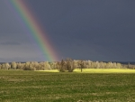 Rainbow in Latvia