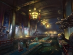 Feudal Japan Throne Room