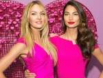Candice Swanepoel and Lily Aldridge