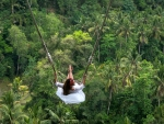 Swinging Over the Jungle, Bali, Indoensia