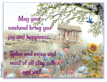 RELAX AND ENJOY - RELAX, COMMENT, ENJOY, CARD
