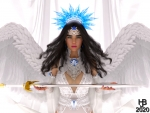 Angel of swords