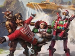 Apex Legends Mirage Christmas card