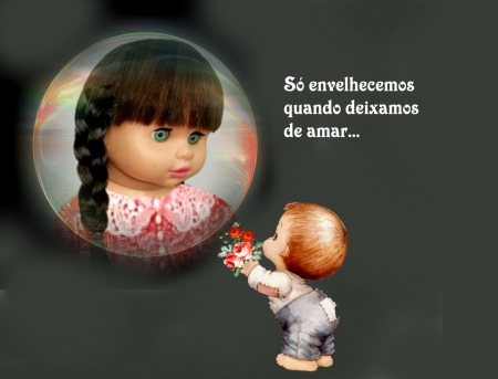 O AMOR PERMANECE SEMPRE - cute, boy, girl, romantic, adorable, beautiful, enchanted, picture, love
