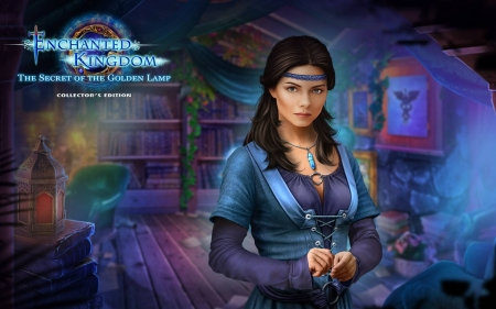 Enchanted Kingdom 7 - The Secret of the Golden Lamp02 - video games, cool, puzzle, hidden object, fun