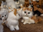 Toy kittens
