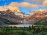 Lake Magog and-Mt. Assiniboine, Banff