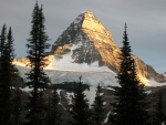 Sunset on the North Face of Mt. Assiniboine