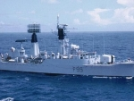 WORLD OF WARSHIPS TYPE 61 AIRCRAFT DIRECTION FRIGATE HMS LINCOLN F 99
