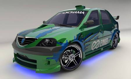 Dacia Logan Tuning Other Cars Background Wallpapers On