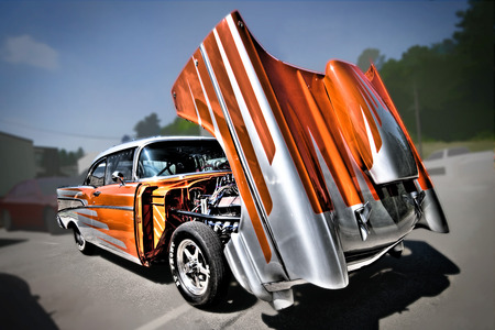 1957 Chevy  - chevy, hot rods, cars