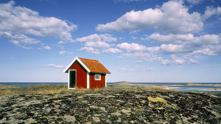 Small Beach House Houses Architecture Background Wallpapers On
