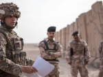 BRITISH ARMY REME OFFICER TRAINING IRAQI SOLDIERS