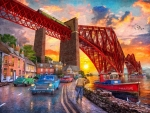 Forth Bridge Sunset - Dominic Davison