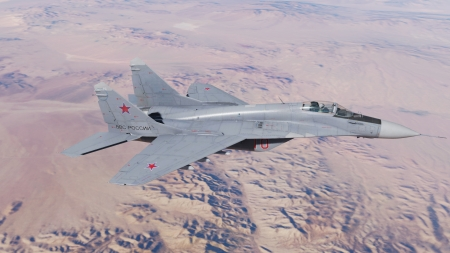 Mig-29 - DCS World, Nevada, Mig, Flaming Cliffs 3