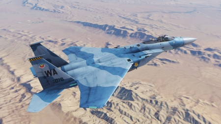 F-15C - DCS, Nevada, Flaming Cliffs 3, F-15C