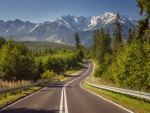 Road to Tatry