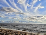 Clouds above Baltic Sea