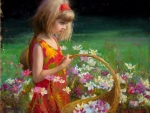 Little girl by Bryce Liston