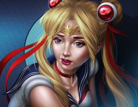 Sailor Moon by Jun Carvas