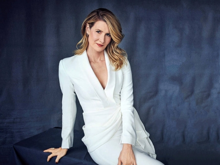 Laura Dern - beautiful, Dern, Laura, table, Laura Dern, dress, model, actress, wallpaper, 2020, hot, white