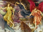 Storm Spirits by Evelyn de Morgan
