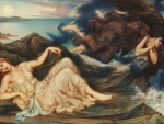 Port after Stormy Seas by Evelyn de Morgan