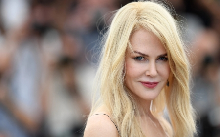 Nicole Kidman - girl, Nicole Kidman, model, actress, blonde, face, woman