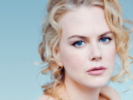 Nicole Kidman - actress, Nicole Kidman, model, girl, blonde, face, woman