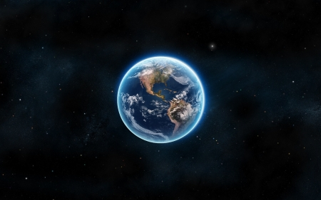 Earth - Earth, Blue, planet, Space