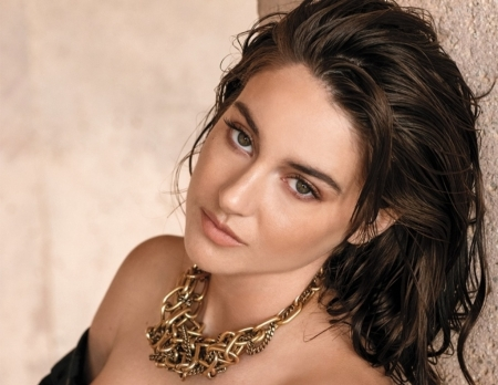 Shailene Woodley - view from the top, girl, model, actress, Shailene Woodley, jewel, face, woman