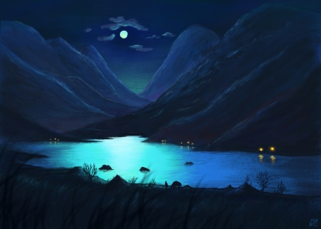 Moonlight by Siar Tanas