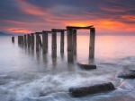 Old Pier in Malaysia