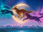 Fantasy Kindred Wolves
