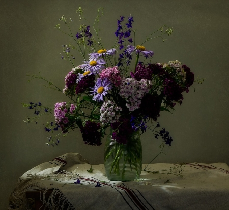 ლ - Vari, Flowers, Vase, Bouquet