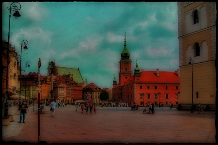 The Royal Palace, Warsaw - Castle, Palace, The Old Town, Warsaw