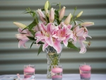 Lilies and Candles