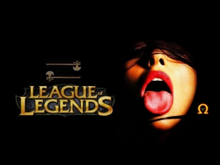 League of Legends - Red, Mouth, Lips, Big