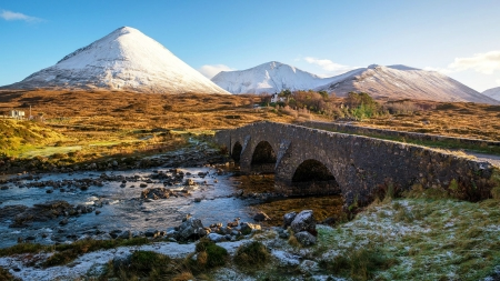 Bridge on the Isle of Skye, Scotland