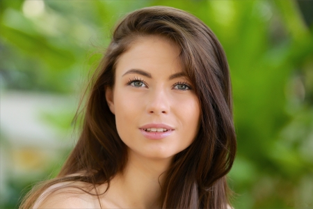 All Around Beauty - brunette, cute, jenna kseniya, model